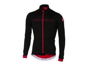 96d5a881f Castelli Majica Castelli FONDO JERSEY FZ Black Red