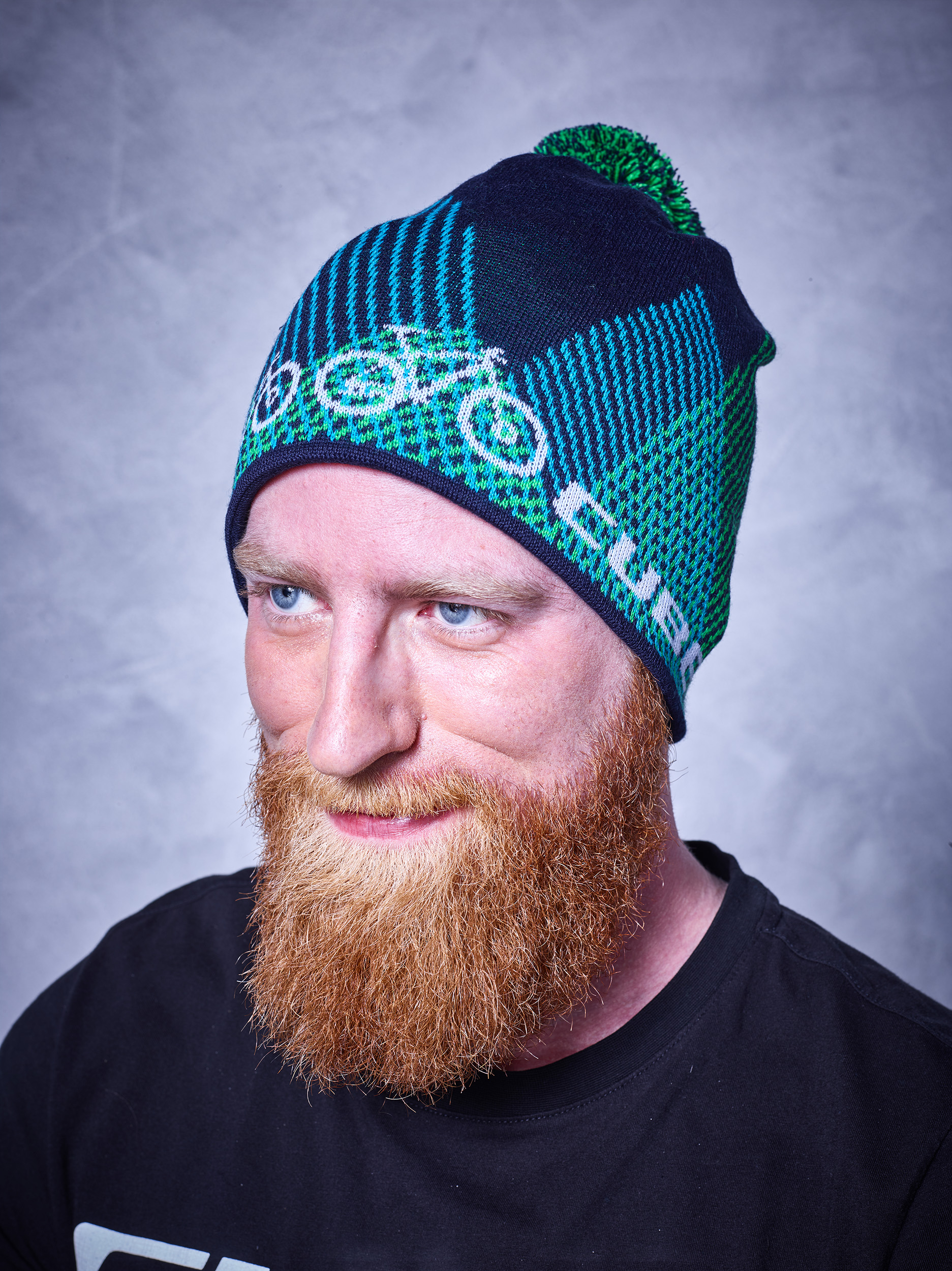 Kapa Cube BEANIE BIKE blue'n'green 11621