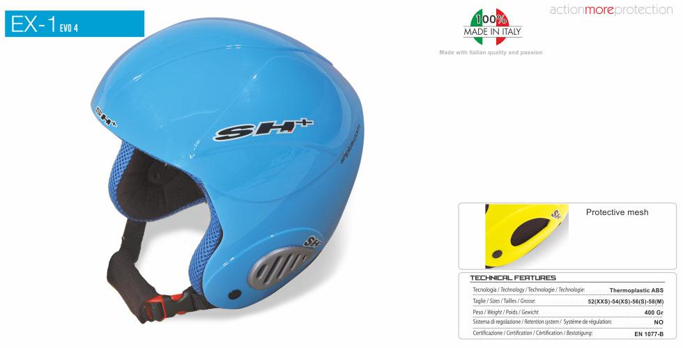 Kaciga ski SH+ EX1 EVO 4 Blue Inj
