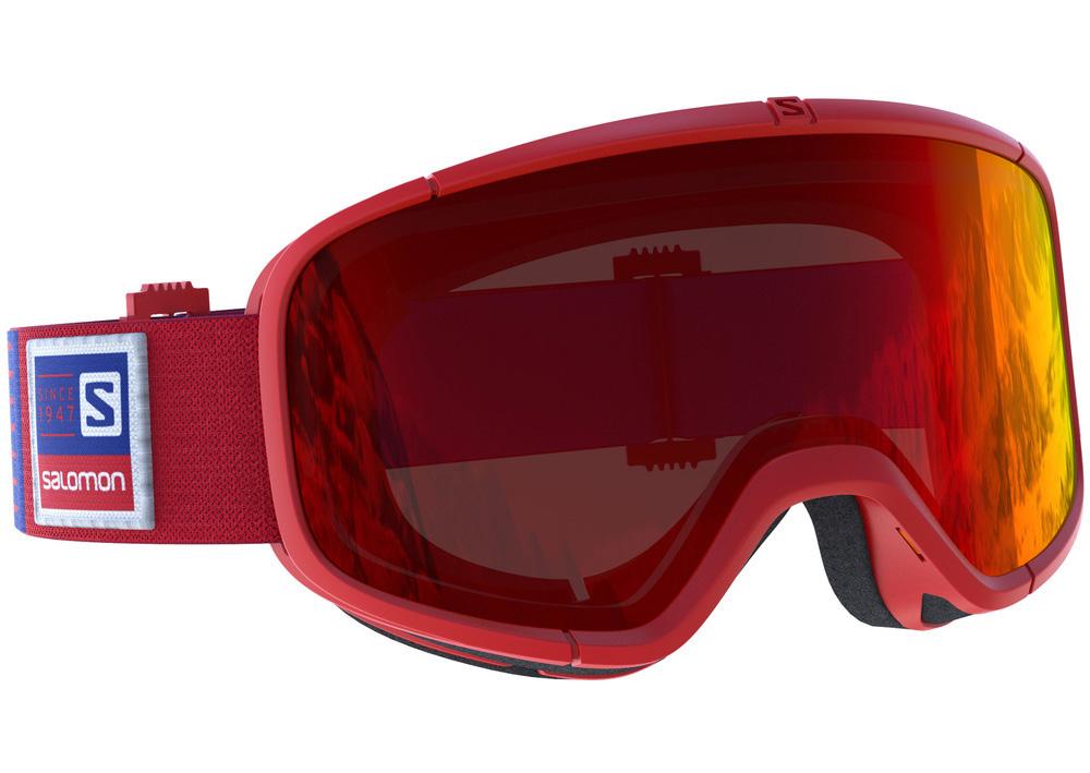 Ski maska Salomon FOUR SEVEN Red/Univ. Mid Red
