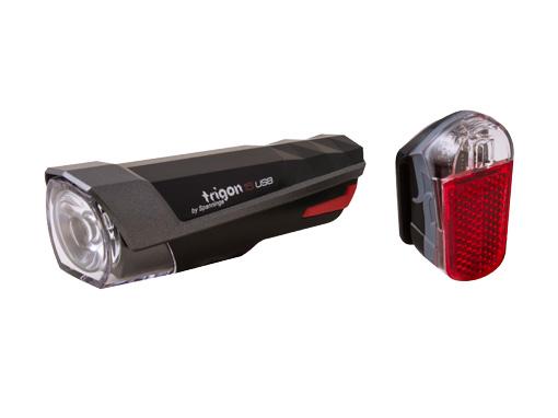 Lampa set TRIGON 15 + PYRO USB Spanninga