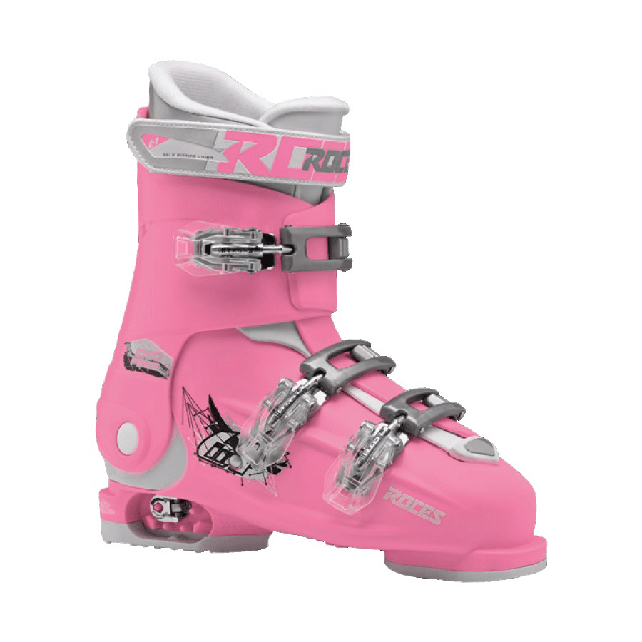 Ski pancerice Roces podesive IDEA FREE Deep Pink-White