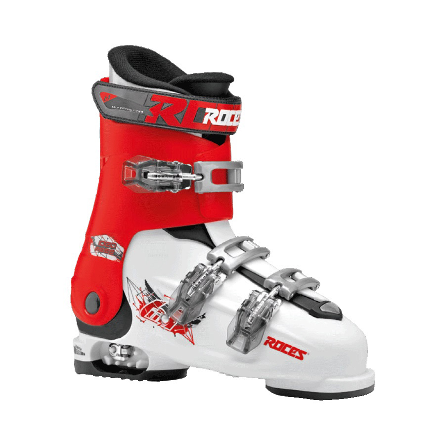 Ski pancerice Roces podesive IDEA FREE White-Red-Black