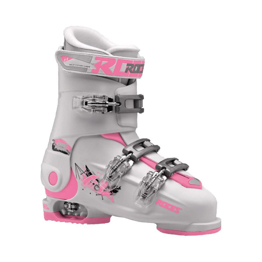 Ski pancerice Roces podesive IDEA FREE White-Deep Pink