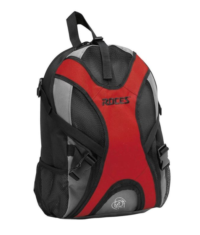 Ruksak za klizaljke Roces INLINE Red-Grey