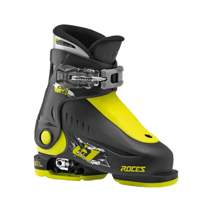 Ski pancerice Roces podesive IDEA UP Black-Lime 16.0-18.5