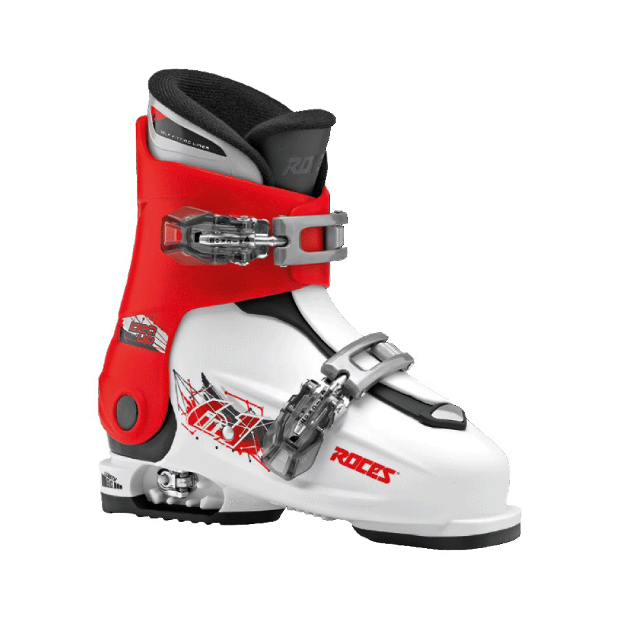 Ski pancerice Roces podesive IDEA UP White-Red-Black 19.0-22.0