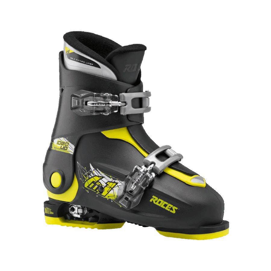 Ski pancerice Roces podesive IDEA UP Black-Lime 19.0-22.0