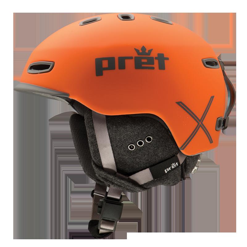 Ski kaciga Pret CYNIC X Orange