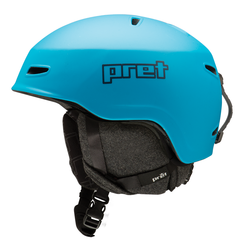 Ski kaciga Pret LID Matte Signature Blue