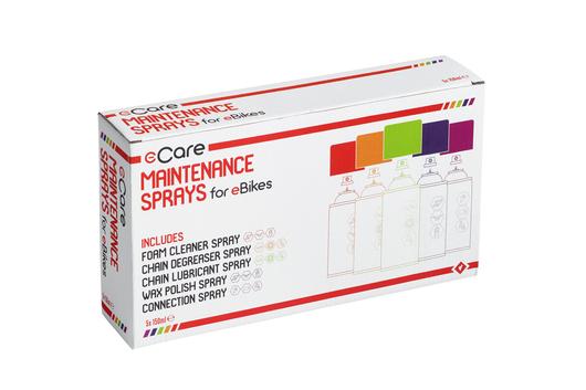 Set za održavanje eBicikla E-CARE 5X150ml Weldtite 03907