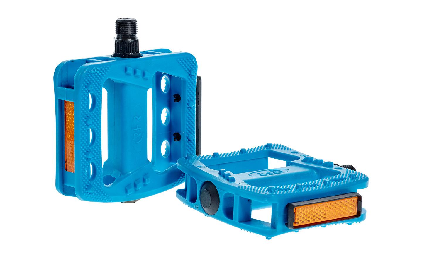 Pedale RFR FLAT HQP CMPT Blue 14177