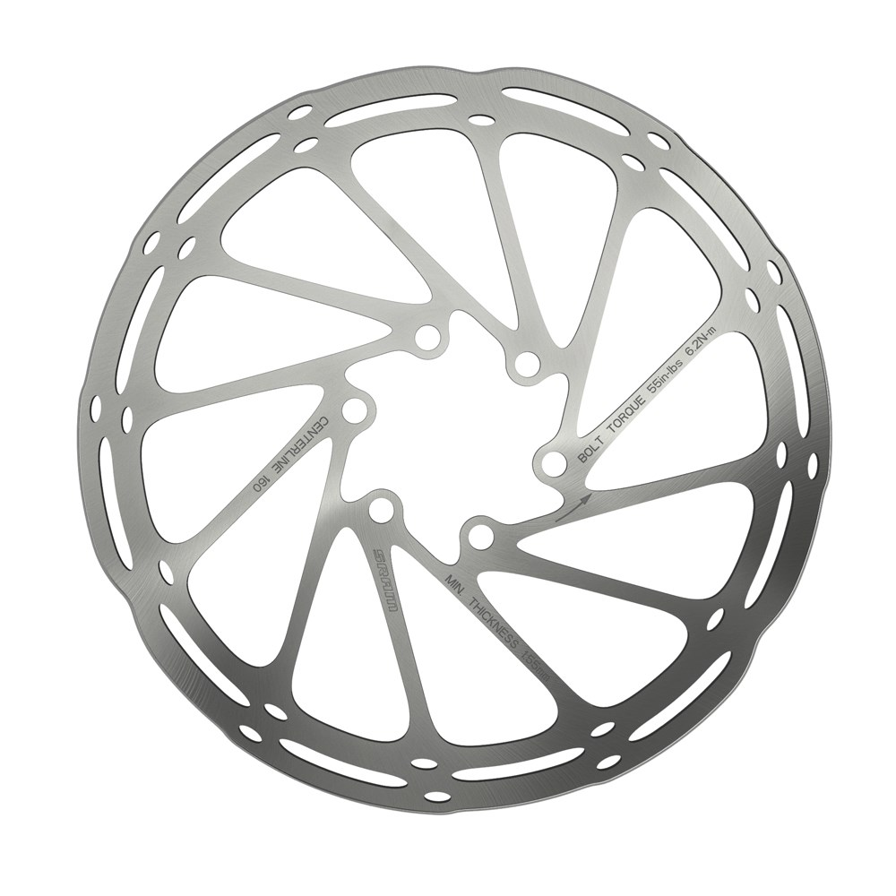Rotor Sram CENTERLINE 180mm 6R Rounded