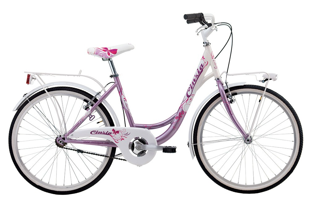 "Cinzia 24"" LIBERTY CITY GIRL Pearl Pink/White"