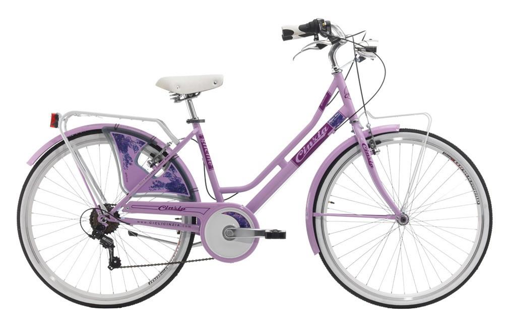 "Cinzia 26"" FLOWER LADY 6B Light Lilac"