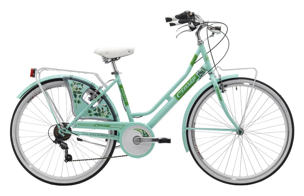 "Cinzia 26"" FLOWER LADY 6B Light Green"