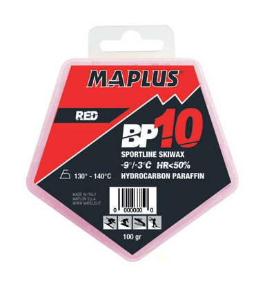 Ski vosak Maplus BP10 RED 100g