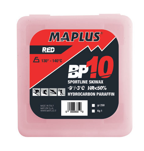Ski vosak Maplus BP10 RED 1kg
