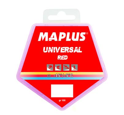 Ski vosak Maplus UNIVERSAL RED 4x250g