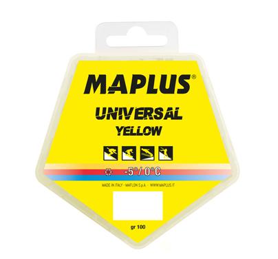 Ski vosak Maplus UNIVERSAL YELLOW 100g