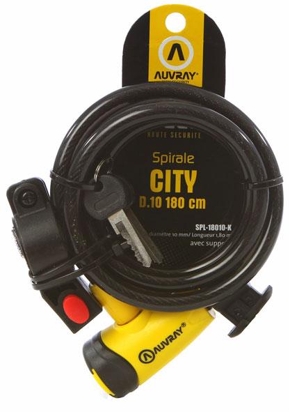 Lokot ključ Auvray SPIRALE CITY 180cm D.10