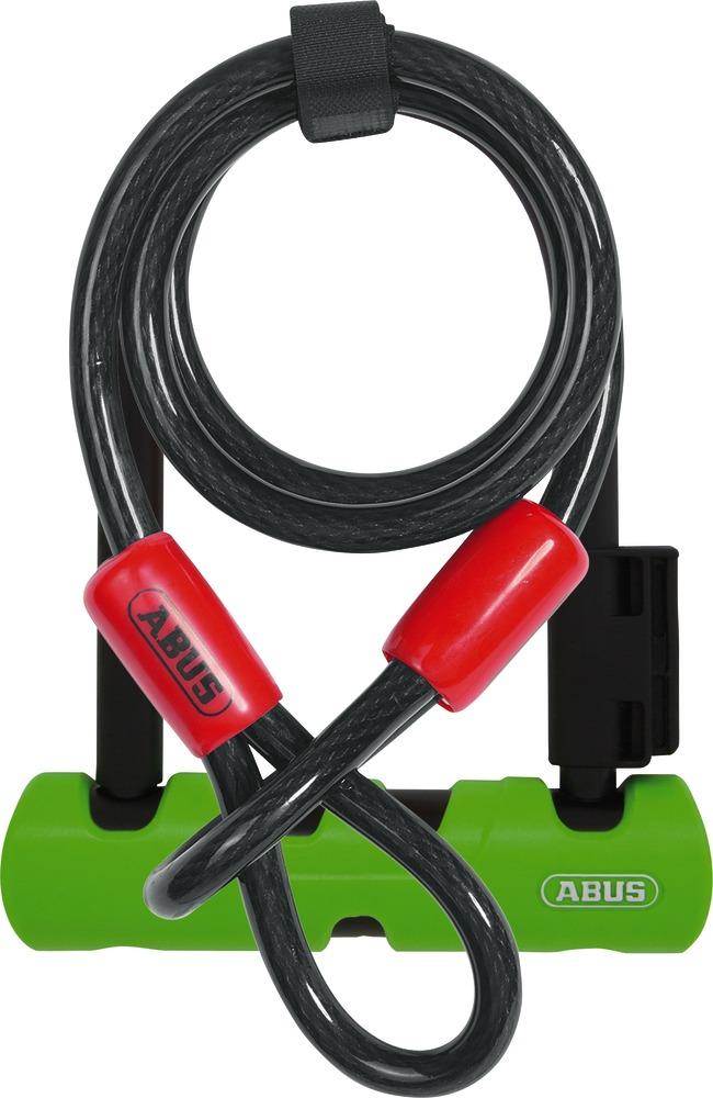 Lokot U-Lock ULTRA MINI 410/150HB140 GN SH34 + sajla COBRA 10/120 Abus 34596-8
