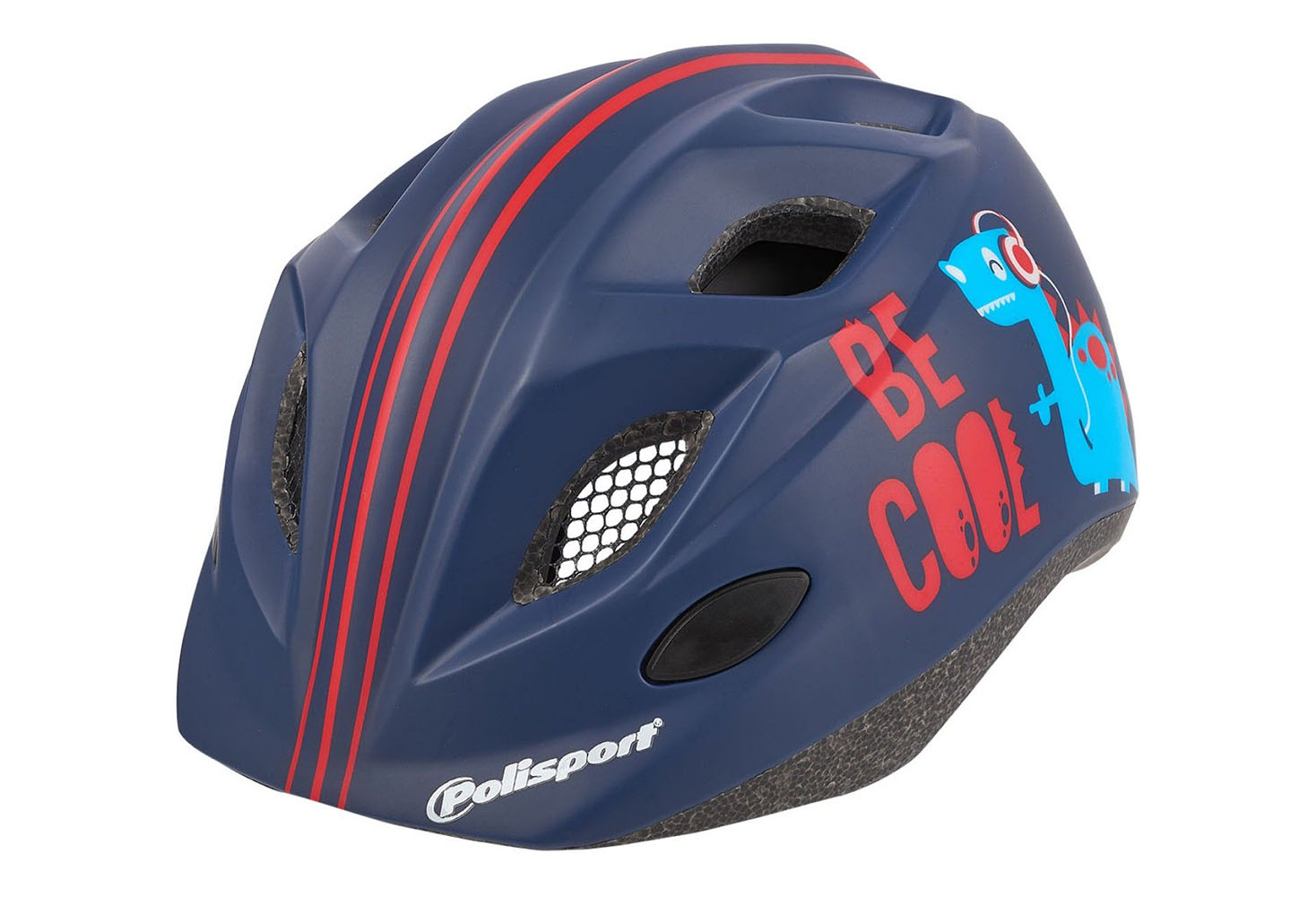 KACIGA POLISPORT PREMIUM DARK BLUE/RED