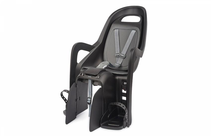 Sjedalo za dj. stražnje GROOVY MAXI CFS na nosač Black/Dark Grey Polisport