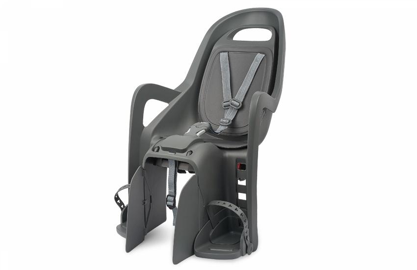 Sjedalo za dj. stražnje GROOVY MAXI CFS na nosač Charcoal/Grey Polisport