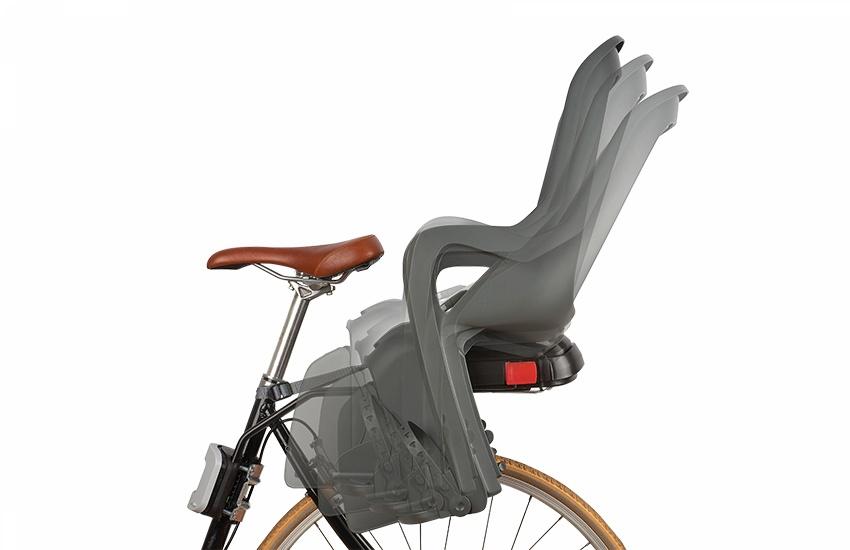 Sjedalo za dj. stražnje na ramu GROOVY RS Black/Grey Polisport