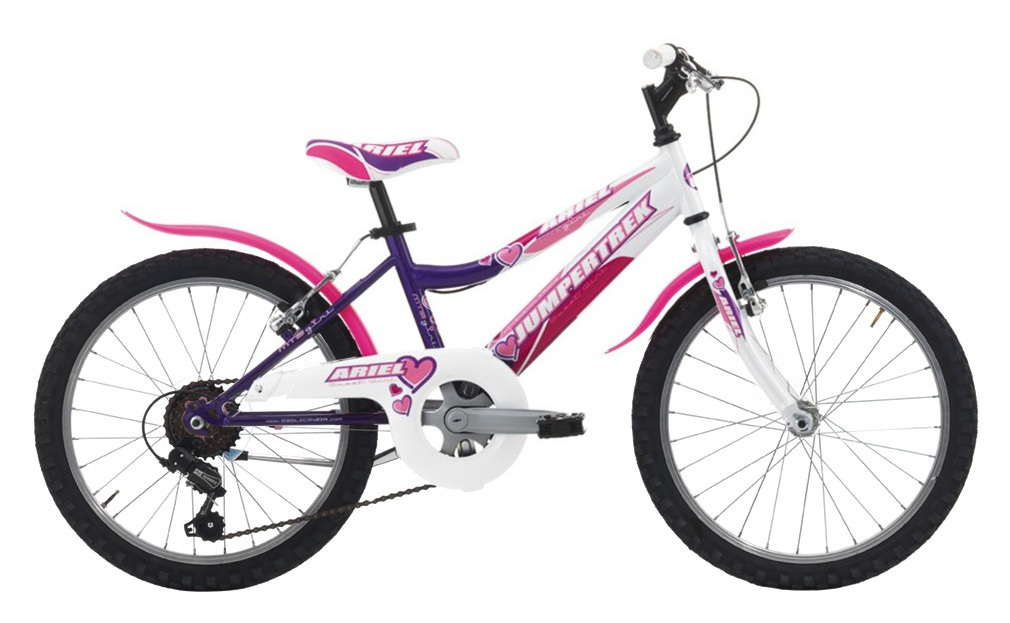 "JUMPERTREK 20"" ARIEL MTB GIRL 6B V-BRAKE VIOLET/WHITE"