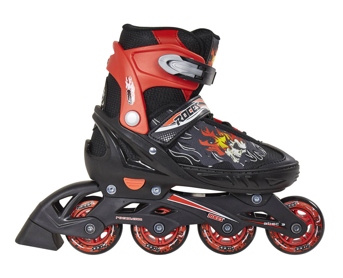 ROLE ROCES COMPY 6.0 BOY BLACK/RED