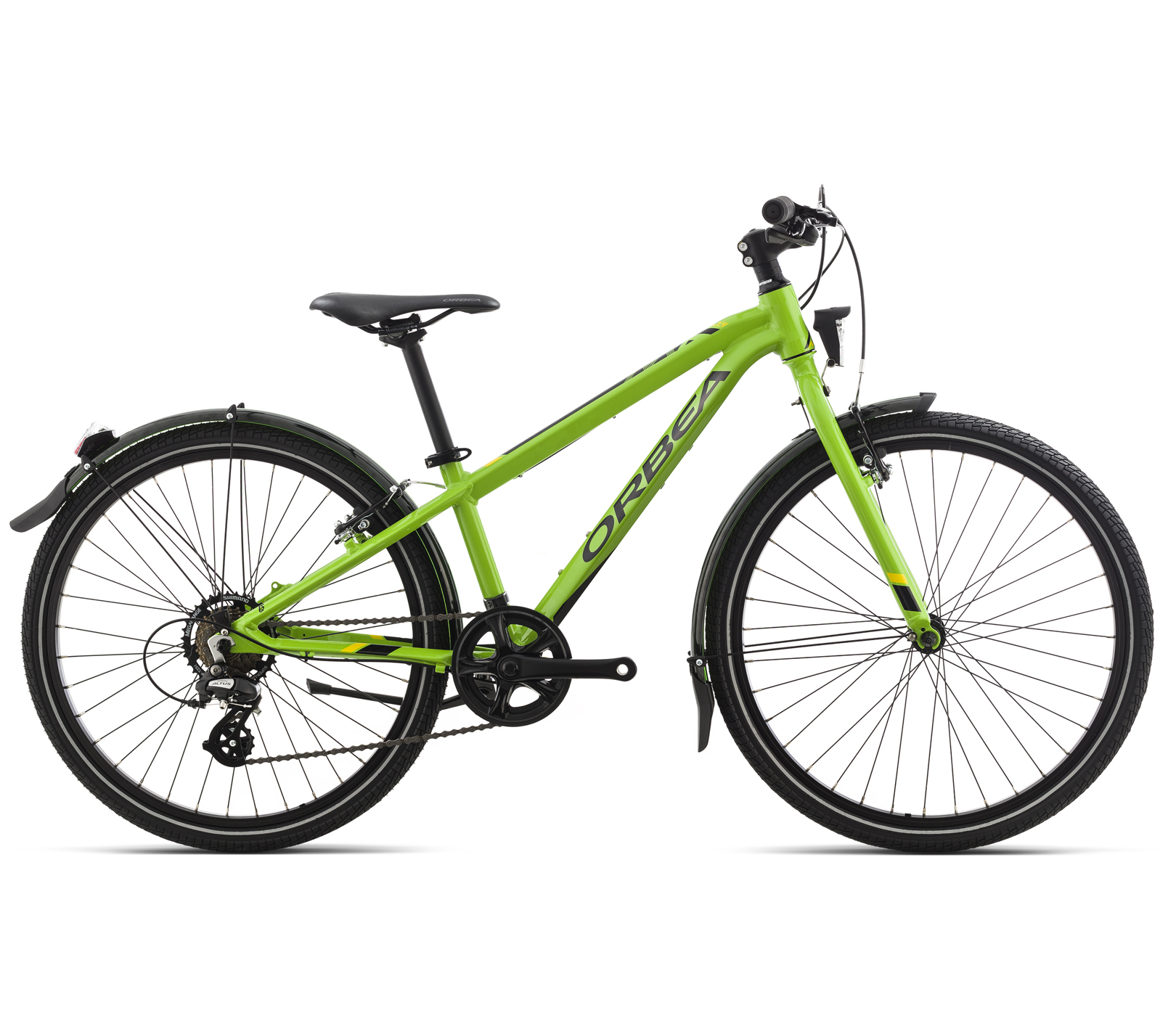 ORBEA MX 20 PARK GREEN-YELLOW 2018