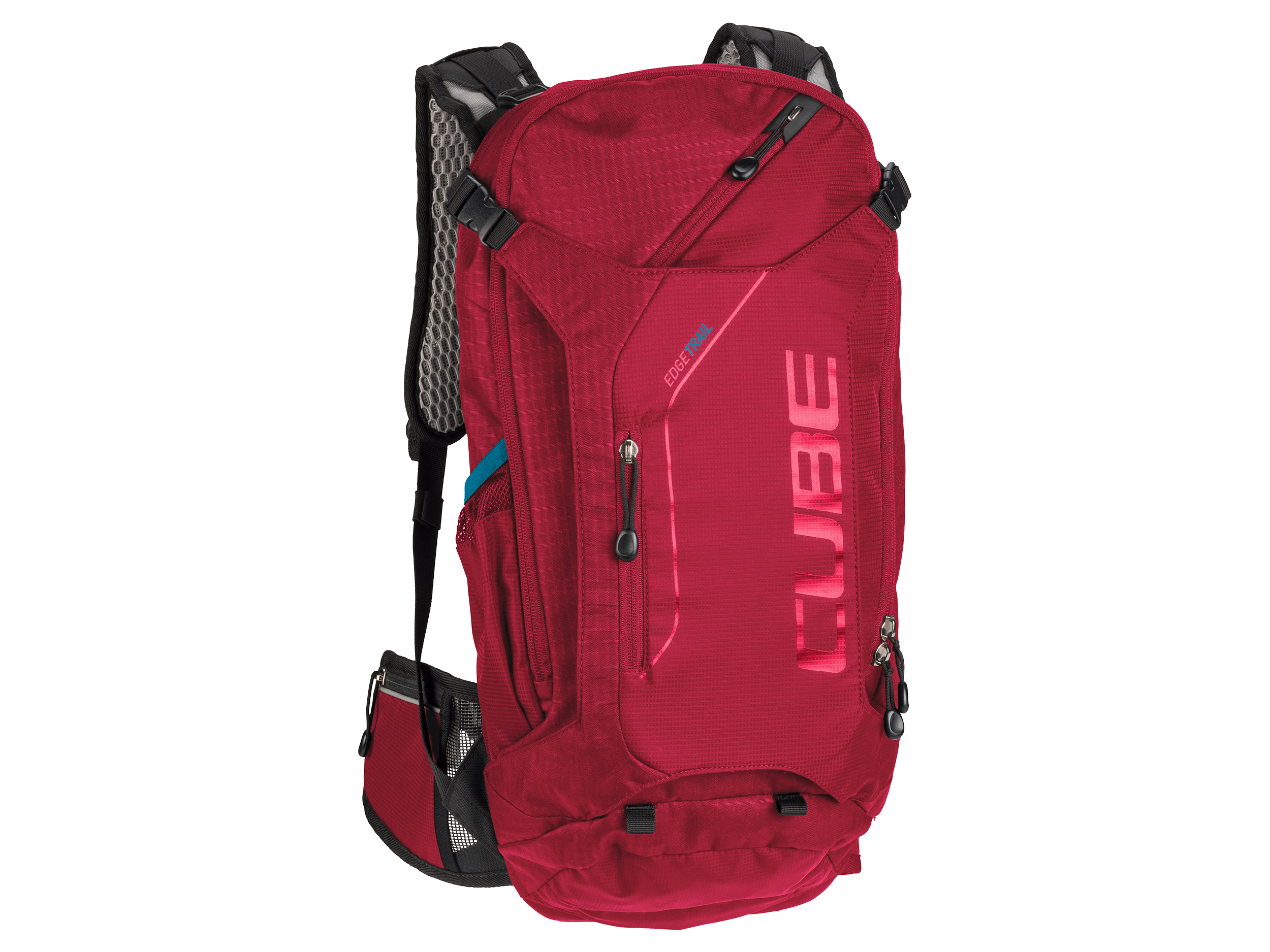 RUKSAK CUBE EDGE TRAIL RED 12101