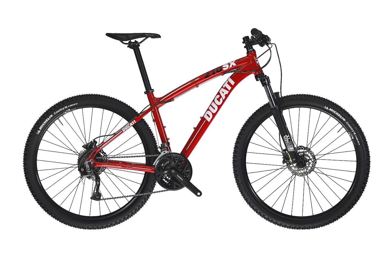"""DUCATI 210SX 27.5"""" ALIVIO/ALTUS 3X9 A4-DUCATI RED"""