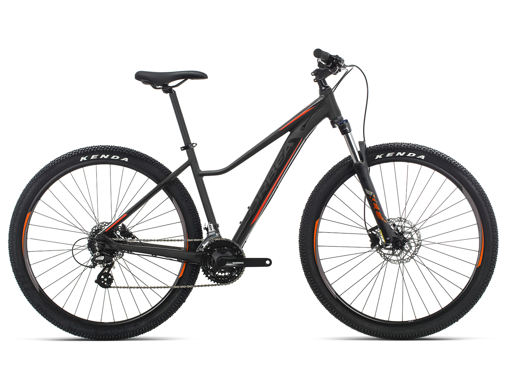 ORBEA MX 29 ENT 50 BLK-RED 2019