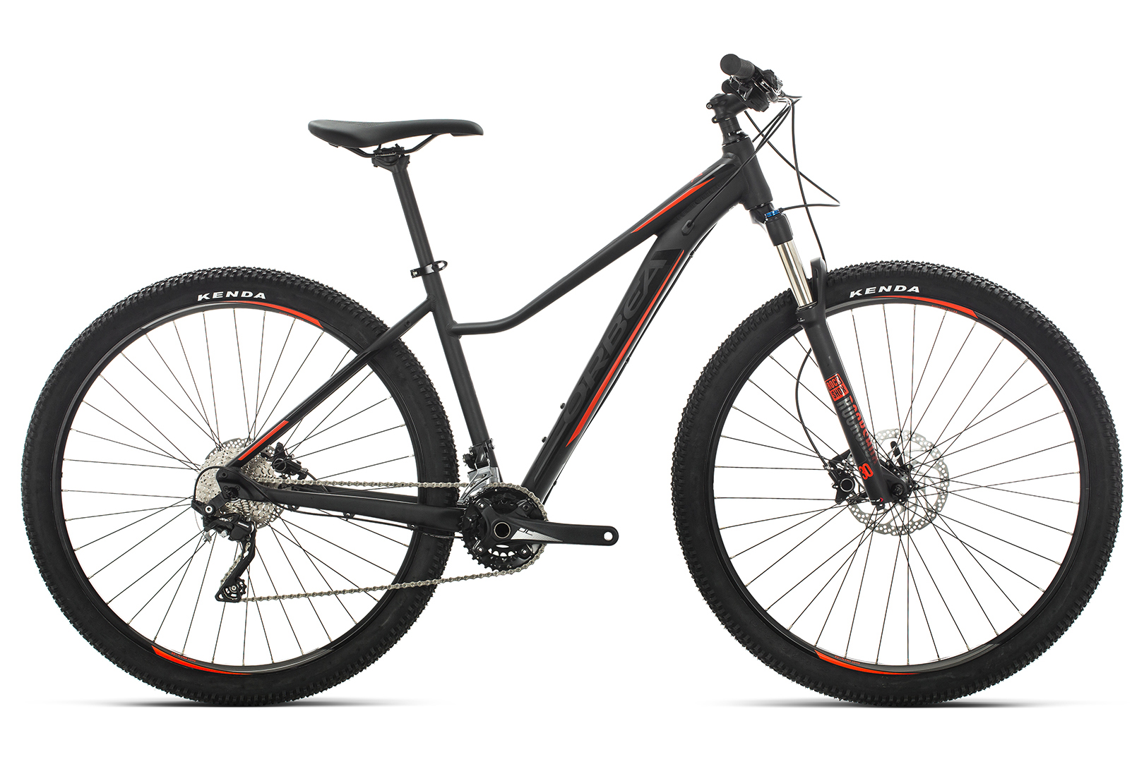 ORBEA MX 29 ENT 10 BLK-RED 2019