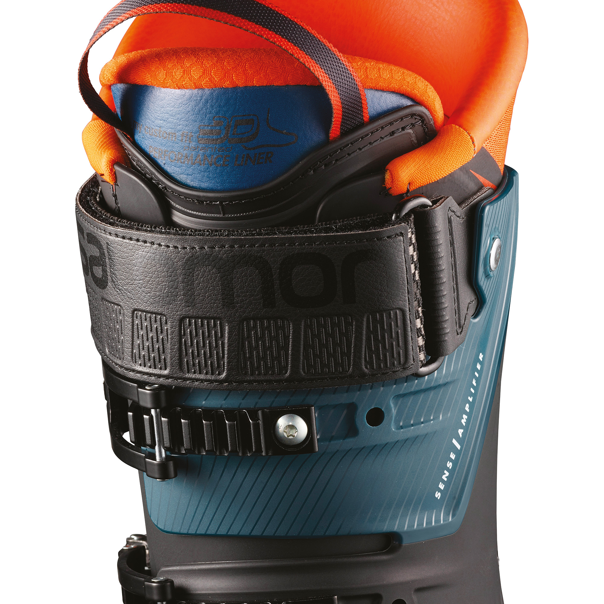 SKI PANCERICE SALOMON S/MAX 120 BLACK/ORANGE