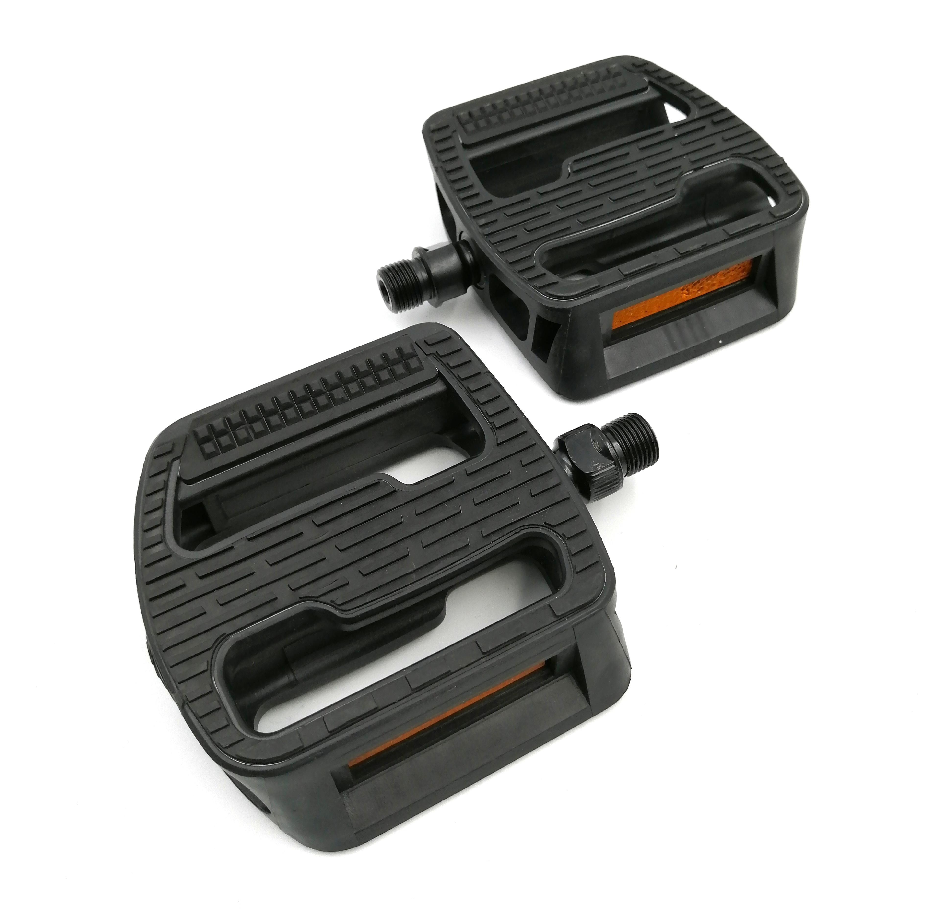 PEDALE FPD NW-467 PP black body/Black rubber/Boron axle 110x97x23mm