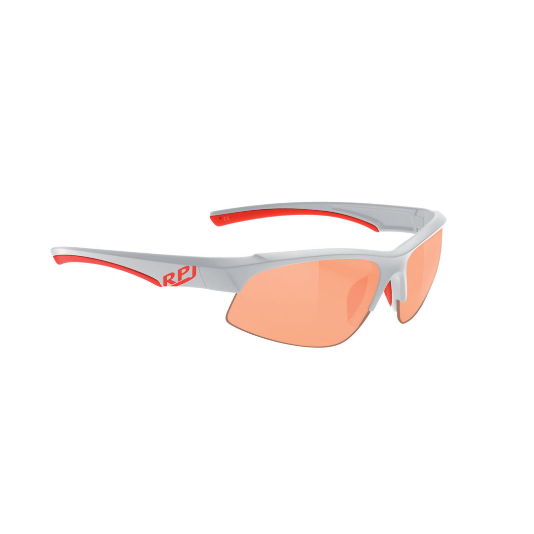 NAOČALE RPJ LARRY SHINY WHITE RACING RED