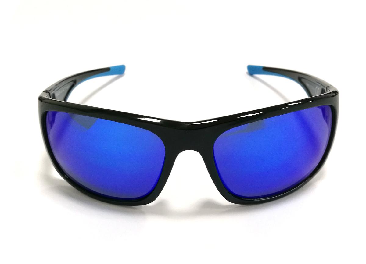 NAOČALE RPJ SPENCER BLACK SHINY MULTILASER BLUE