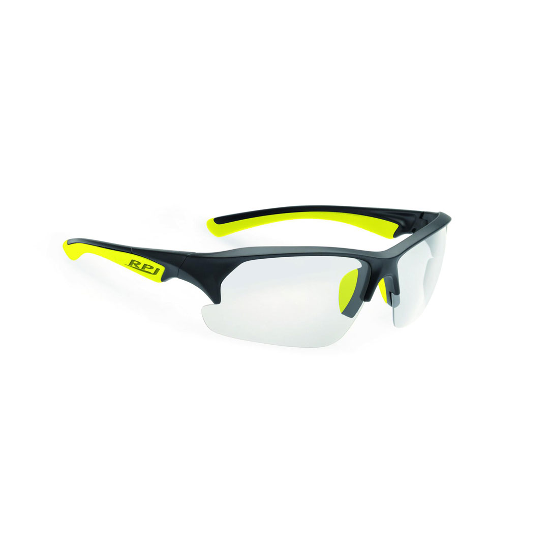 NAOČALE RPJ TRACER BLACK/YELLOW FLUO SHINY PHOTOCLIMA CLEAR