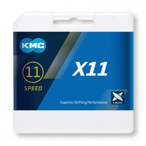 LANAC KMC X11 SILVER/BLACK 114L