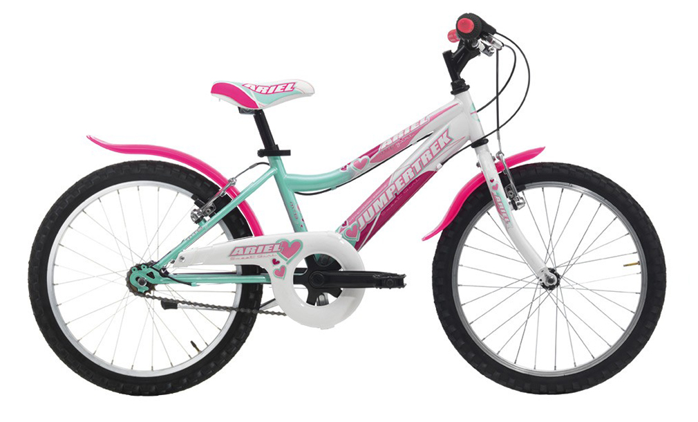 "JUMPERTREK 20"" ARIEL GIRL SINGLE SPEED AQUAMARINE/WHITE"
