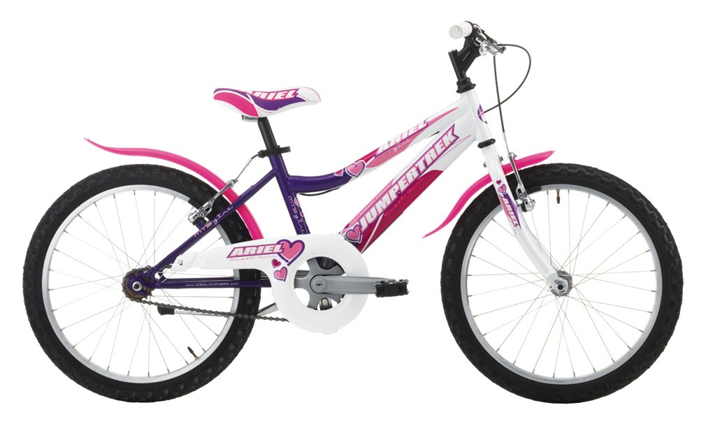 "JUMPERTREK 20"" ARIEL GIRL SINGLE SPEED VIOLET/WHITE"