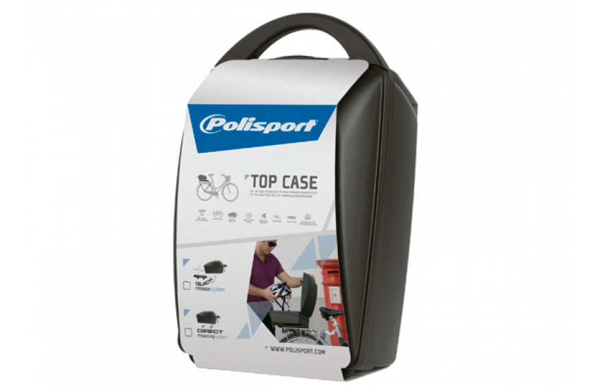 KOFER ZA BICIKL POLISPORT TOP BOX WITH QUICK RELEASE SYSTEM