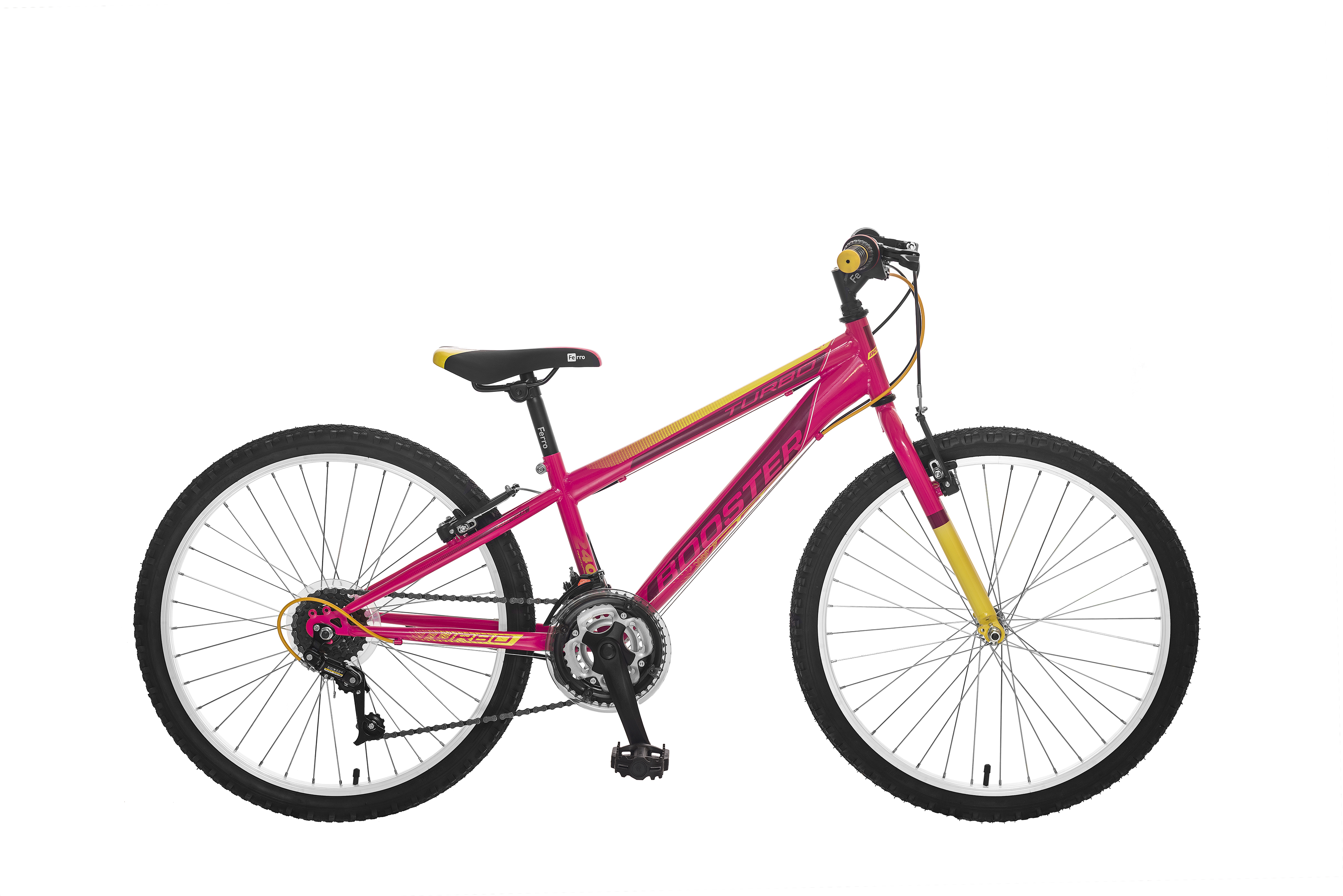 POLAR BOOSTER TURBO 240 PINK-YELLOW