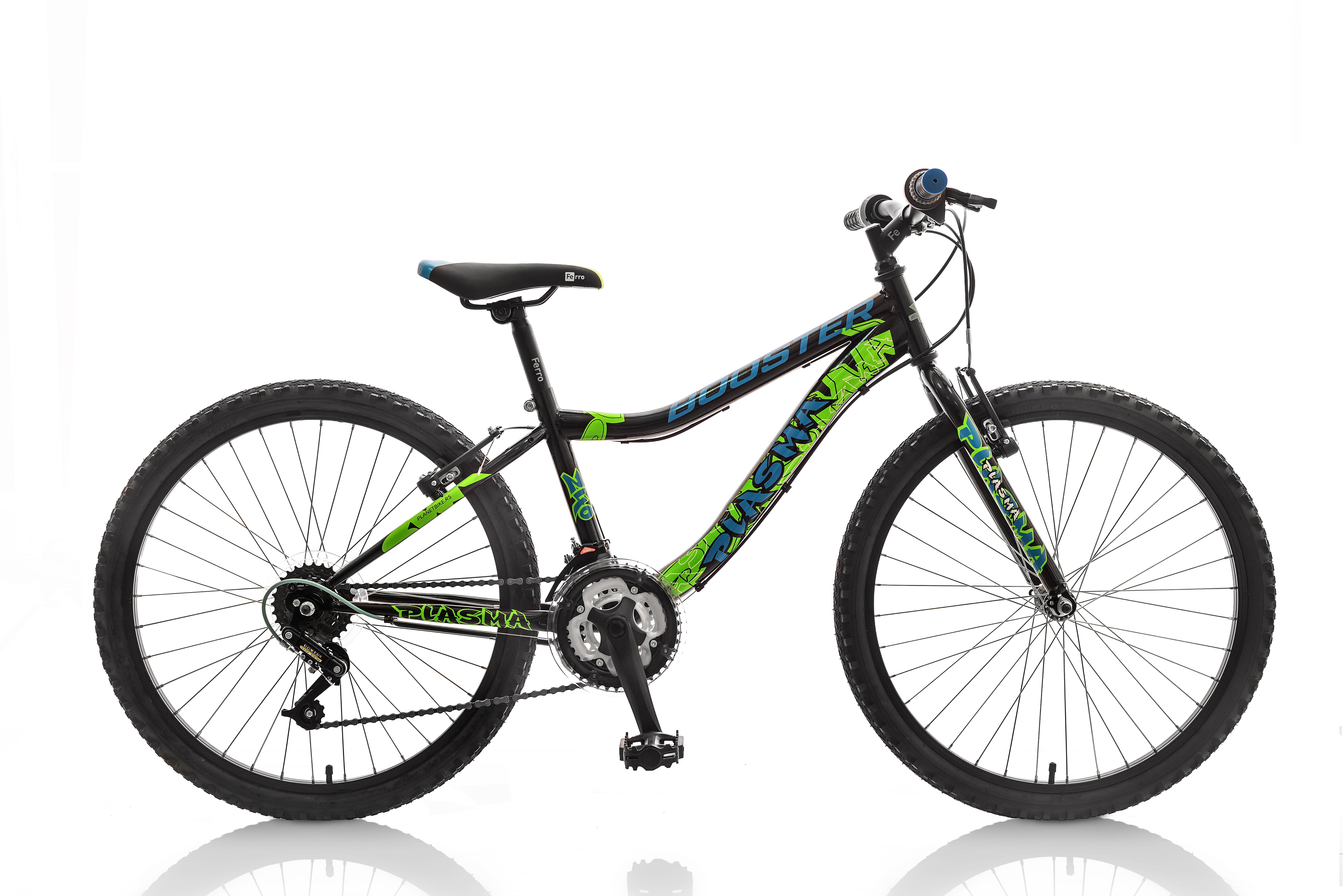 POLAR BOOSTER PLASMA 240 BLACK-GREEN