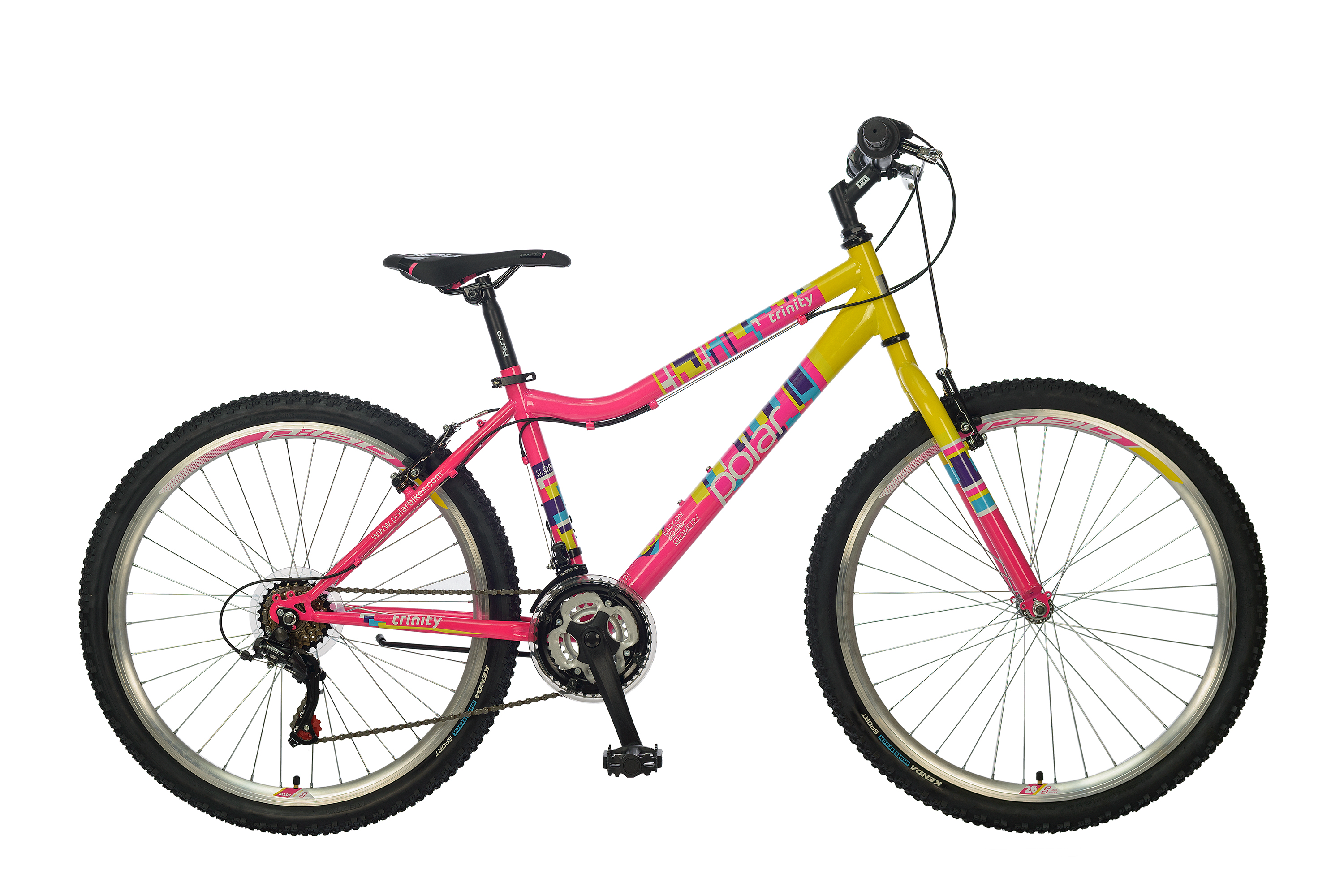"POLAR TRINITY 26"" PINK-YELLOW"