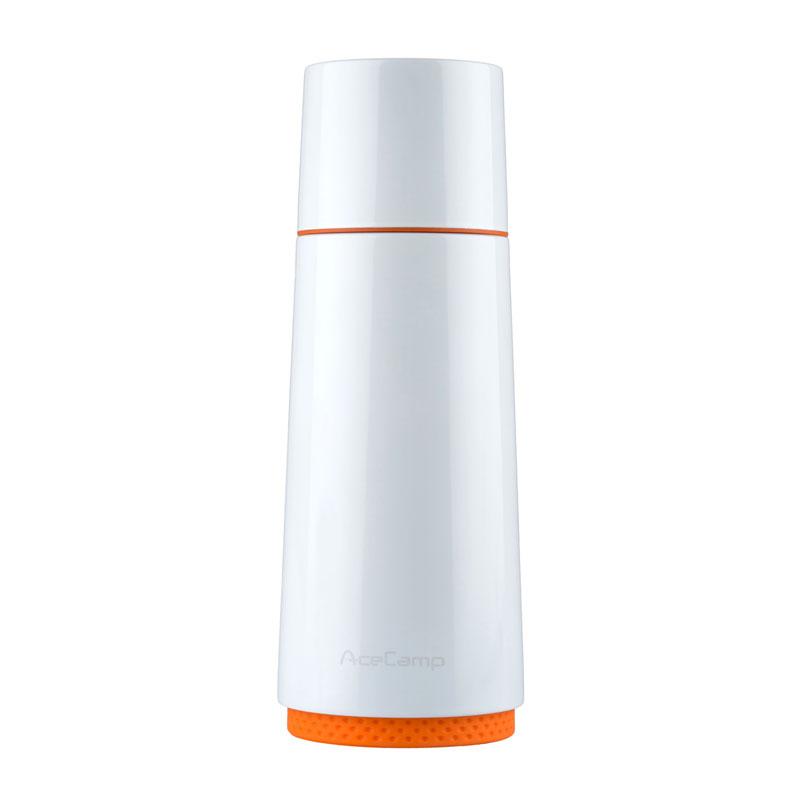 ACE CAMP TERMOSICA INOX VACCUM BOTTLE 370ML WHITE